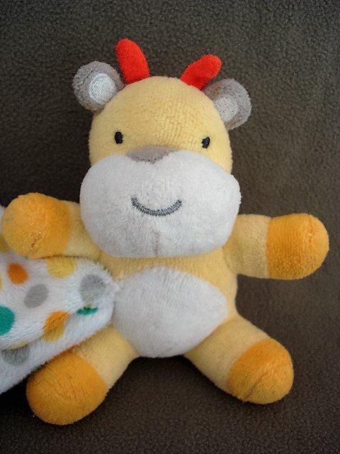 N94 Infant Baby Nursery Fallscreek Baby Giraffe Security Blanket