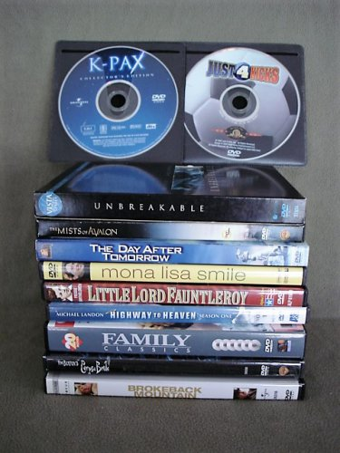 DVD�s Lot of 11 Drama Total 30 Movies