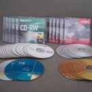O54 Imation & Memorex CD-RW Lot of 10