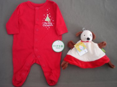 Unisex Bodysuit & Puppy Puppet Hat NEW