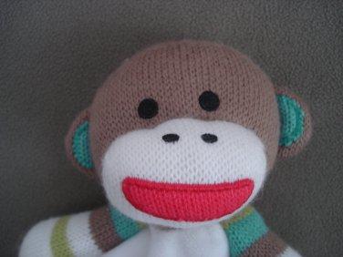 N116 Infant Baby Nursery Security Blanket Baby Starters Monkey
