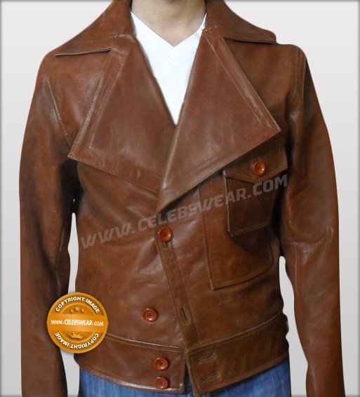 Leonardo Dicaprio The Aviator Vintage Leather Jacket