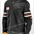 New House MD Gregory House BIker Leather Jacket