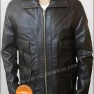 James Bond Casino Royale Brown Lambskin Leather Jacket