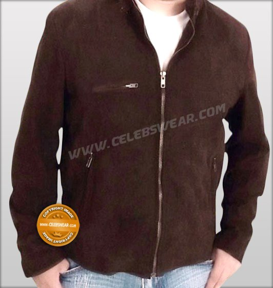 Tom Cruise Mission Impossible 3 Brown Suede Jacket