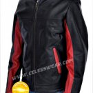 Batman Dark Knight Red & Black Designer Leather Jacket