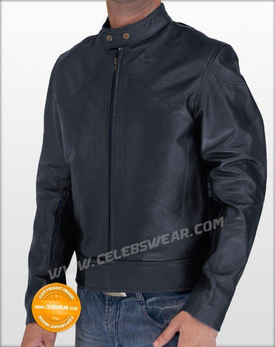 Bangkok Dangerous Joe Black Motorcycle Leather Jacket