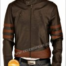 XMen Origins Logans Wolverine Brown Cool Leather Jacket