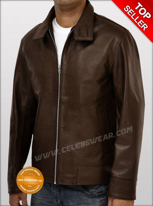 X Men First Class Magneto Fitted Leather Jacket