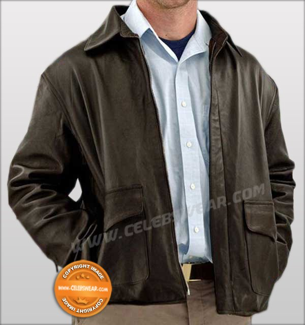 Indiana Jones Black Classic Vintage Leather Jacket