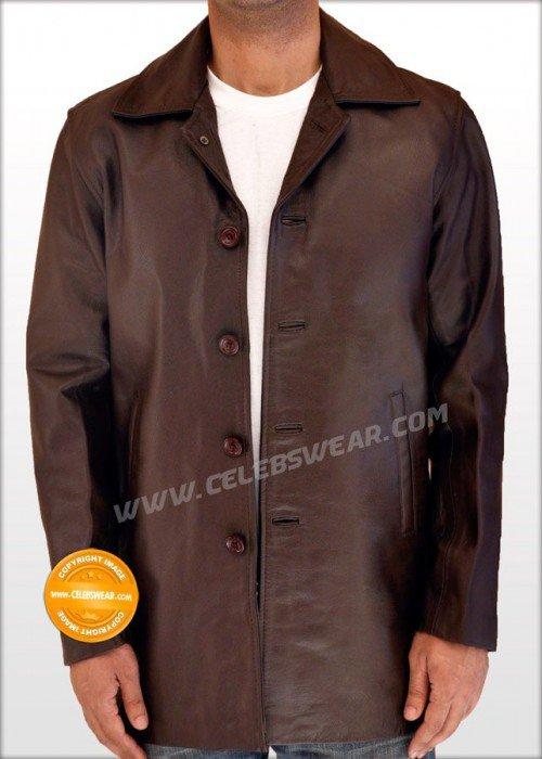 Dean Winchester Jacket Supernatural Brown Leather Coat