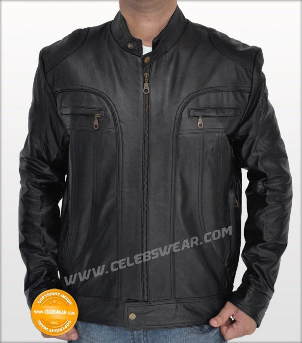 New Ghosts of Girlfriends Past Designer Leather Jacket