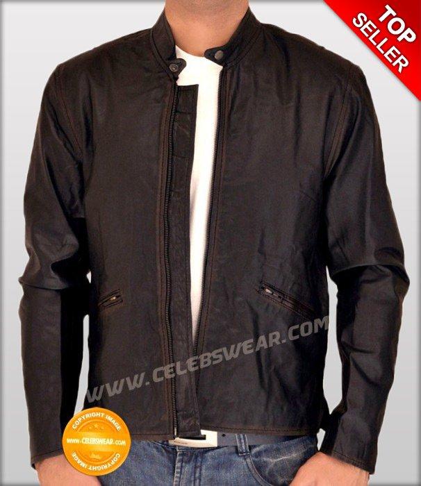 Tron Legacy Sam Flynn Distressed Brown Leather Jacket