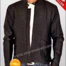 Tron Legacy Sam Flynn Distressed Brown Leather Jacket