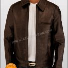 Surrogates Bruce Wills Leather Jacket