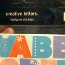 Making Memories Creative Letters Designer