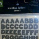 Making Memories Creative Letters Chunky