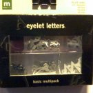 Making Memories Eyelet Letters Basic Multipack
