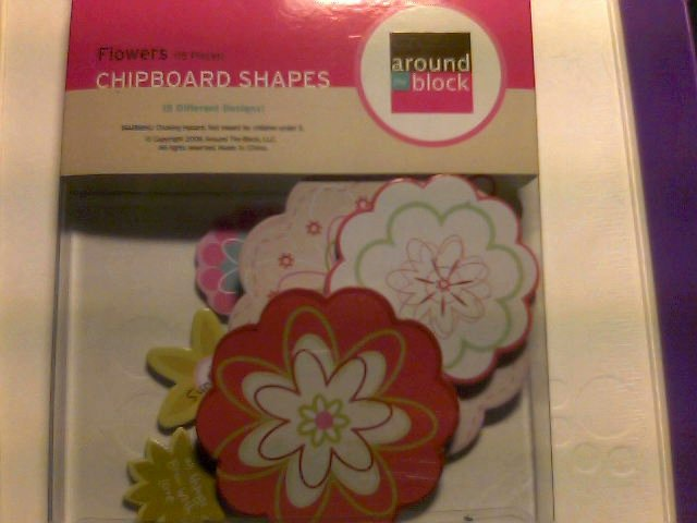 Around The Block Chipboard Shapes