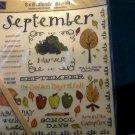 Karen Foster 8x8 Calendar Rub-On sheet
