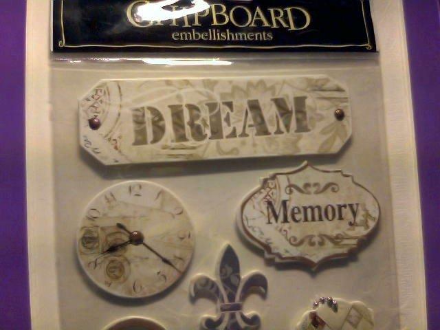 The Paper Studio Chipboard Embellishments