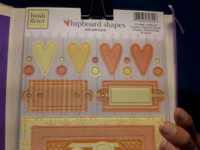 Heidi Grace Chipboard Shapes