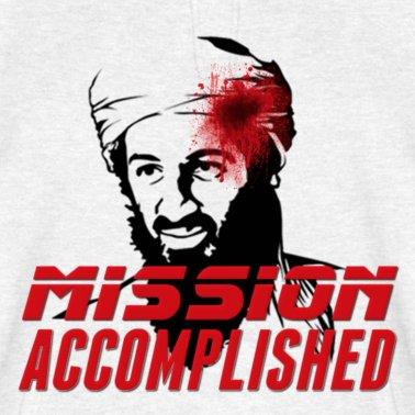 Osama Bin Laden Mission Accomplished T-Shirt