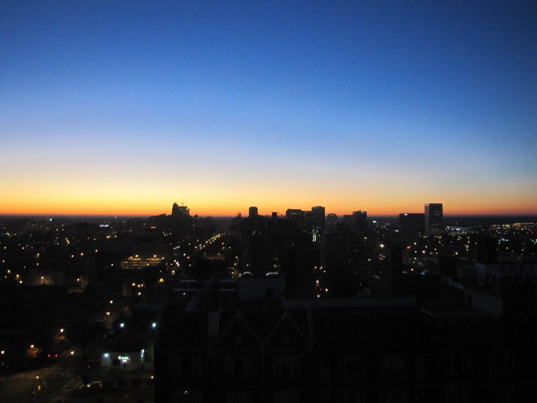 Richmond at Sunset