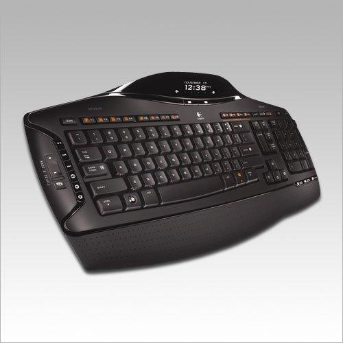 Logitech Cordless Desktop MX 5500 Revolution, Bluetooth, Rechargeable Laser Mouse, Keyboard