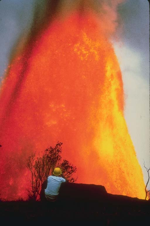 Vintage 1955 Hawaii Volcanoes Video Color and B/W on CD