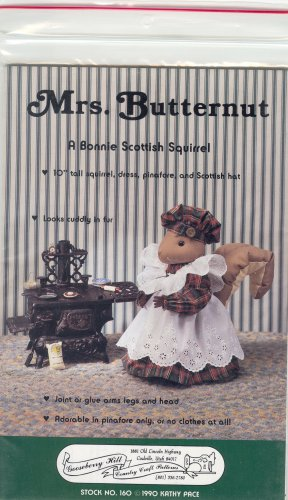 Mrs Butternut Squirrel - Out Of Print Pattern