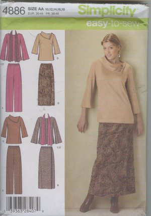 Simplicity 4886 Easy To Sew