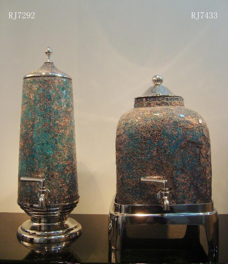 INDIA GLASS DEXCORATION-RJ7292/RJ7433