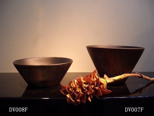 THAILAND WOOD VASE-DV007F/DV008F