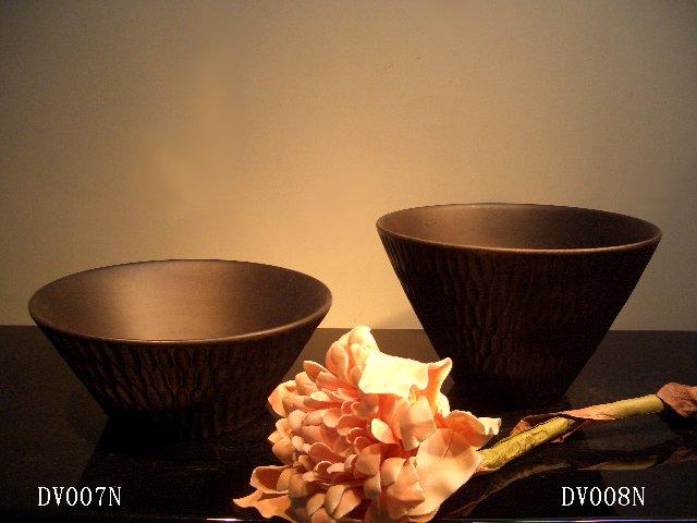 THAILAND WOOD VASE-DV007N/DV008N
