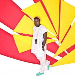 White Fulani Kaftan Top