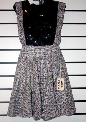 Grey Skirt with Suspemders