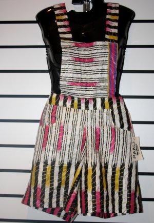 Multicoloured Stripe Overalls