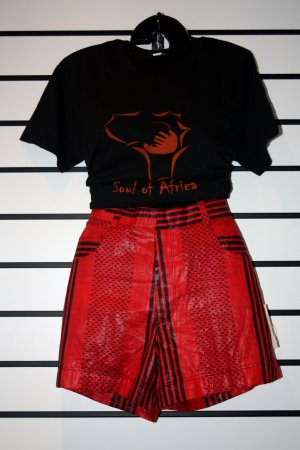 Black/Orange Soul Of Africa T-Shirt