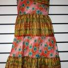 One Shoulder Ankara Mix Dress