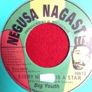 Big Youth - Every _Is A Star / Version (COLORED VINYL) (1974)