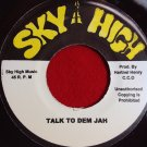 Flabba Holt - Talk To Them Jah / Version (1976)