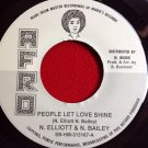 N. Elliot, N. Bailey - People Let Love Shine / The Jets Sets - Too Much (1971)