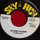 Flabba Holt - My Baby Is Gone / Version (1979)