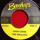 The Wailers - Soon Come / Version (1970)