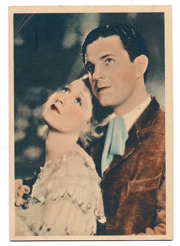 GODFREY PHILLIPS Ramon Novarro and Jeanette Macdonald MINT CARD