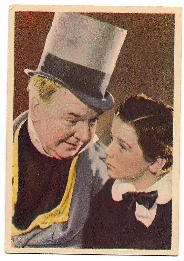 GODFREY PHILLIPS W.C. Fields and Freddie Bartholomew MINT CARD