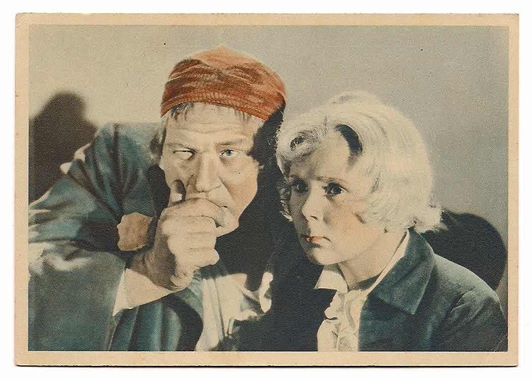 GODFREY PHILLIPS Wallace Beery and Jackie Cooper MINT CARD