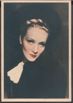 GODFREY PHILLIPS Marlene Dietrich MINT CARD