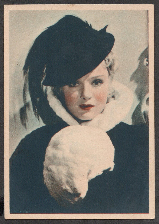 GODFREY PHILLIPS Anna Sten MINT CARD